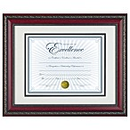 8.5-Inch x 11-Inch Recognition Document Frame in World Class Rosewood