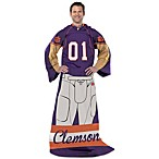 Clemson Univeristy Player Uniform Comfy Throw