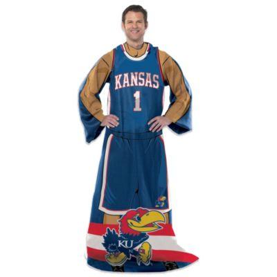 University of Kansas Player Uniform Comfy Throw