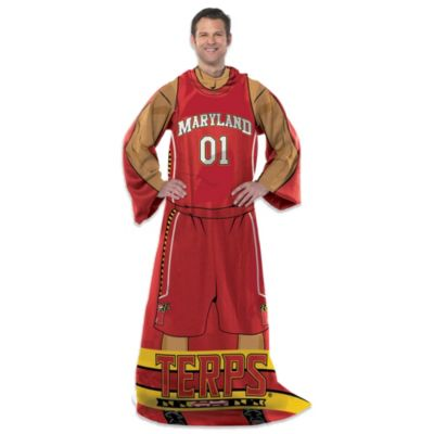 University of Maryland Player Uniform Comfy Throw