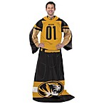 University of Missouri Player Uniform Comfy Throw