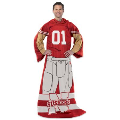 University of Nebraska Uniform Comfy Throw