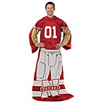 University of Nebraska Uniform Comfy Throw