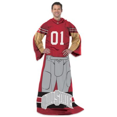 Ohio State University Uniform Comfy Throw