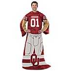 University of Oklahoma Uniform Comfy Throw