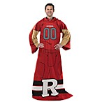 Rutgers University Uniform Comfy Throw