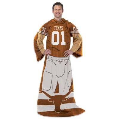 University of Texas Player Uniform Comfy Throw