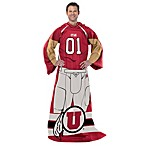 University of Utah Player Uniform Comfy Throw