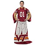 Virginia Tech Player Uniform Comfy Throw
