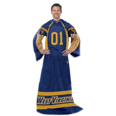 University of West Virginia Player Uniform Comfy Throw