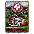 University of Alabama 48-Inch x 60-Inch Tapestry Throw Blanket