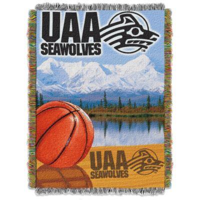 University of Alaska Anchorage Tapestry Throw Blanket
