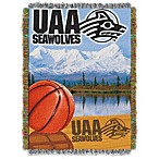 University of Alaska Anchorage 48-Inch x 60-Inch Tapestry Throw Blanket