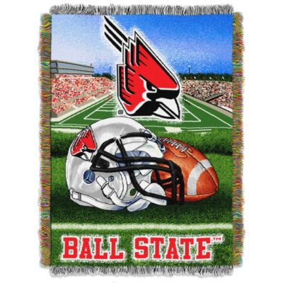 Ball State University 48-Inch x 60-Inch Tapestry Throw Blanket