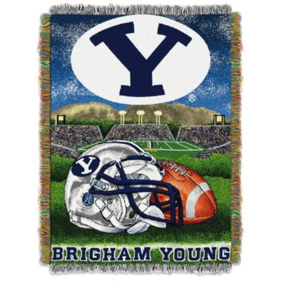 Brigham Young University Tapestry Throw Blanket
