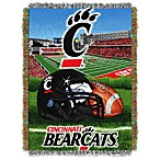 University of Cincinnati 48-Inch x 60-Inch Tapestry Throw Blanket