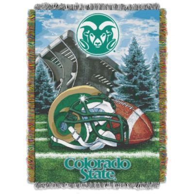 Colorado State University 48-Inch x 60-Inch Tapestry Throw Blanket