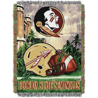 Florida State University 48-Inch x 60-Inch Tapestry Throw Blanket