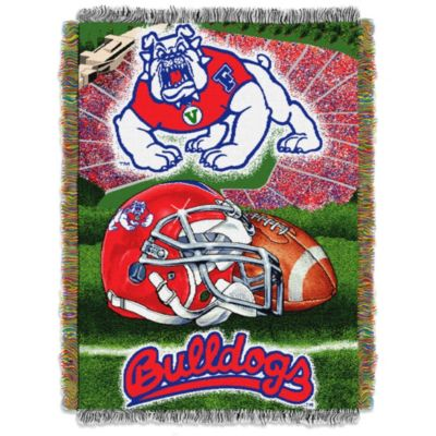 Fresno State University Tapestry Throw Blanket