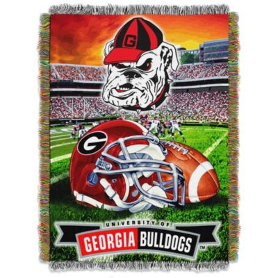 University of Georgia 48-Inch x 60-Inch Tapestry Throw Blanket