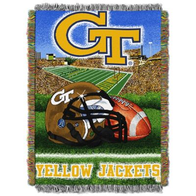 Georgia Tech 48-Inch x 60-Inch Tapestry Throw Blanket