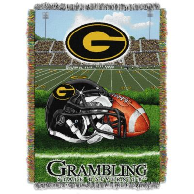 Grambling State University Tapestry Throw Blanket