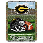 Grambling State University 48-Inch x 60-Inch Tapestry Throw Blanket