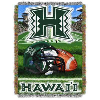 University of Hawaii Tapestry Throw Blanket
