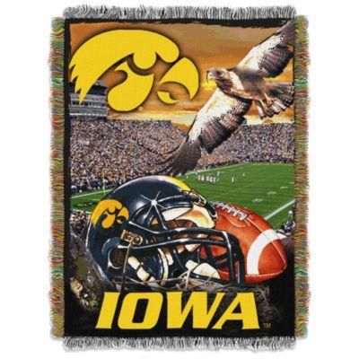 University of Iowa Tapestry Throw Blanket