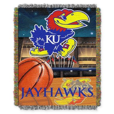 University of Kansas Tapestry Throw Blanket
