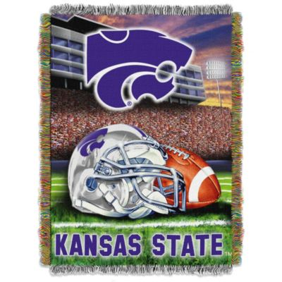 Kansas State University 48-Inch x 60-Inch Tapestry Throw Blanket
