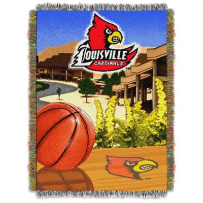 University of Louisville 48-Inch x 60-Inch Tapestry Throw Blanket