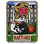University of Maryland 48-Inch x 60-Inch Tapestry Throw Blanket