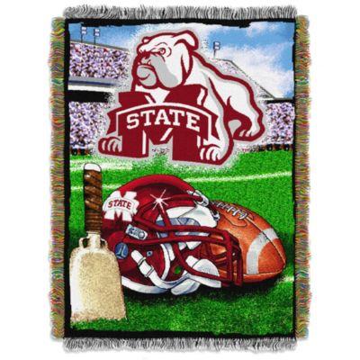Mississippi State University Tapestry Throw Blanket