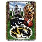 University of Missouri 48-Inch x 60-Inch Tapestry Throw Blanket