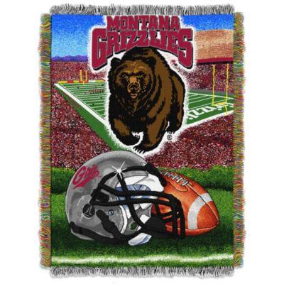 University of Montana Tapestry Throw Blanket