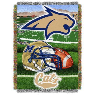 Montana State University Tapestry Throw Blanket