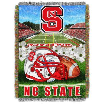 North Carolina State University Tapestry Throw Blanket