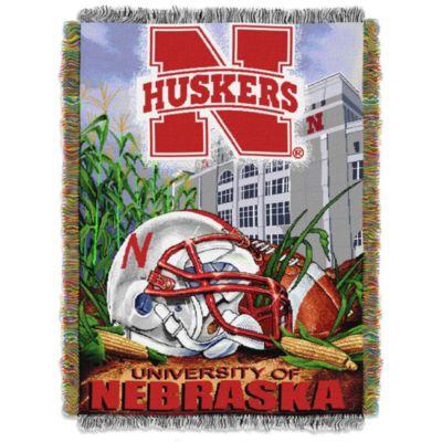 University of Nebraska Tapestry Throw Blanket