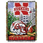 University of Nebraska 48-Inch x 60-Inch Tapestry Throw Blanket