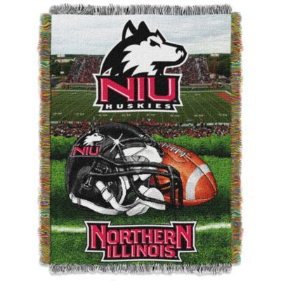 Northern Illinois University 48-Inch x 60-Inch Tapestry Throw Blanket