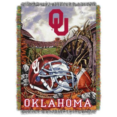 University of Oklahoma Blanket Throw