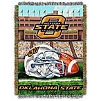 Oklahoma State University 48-Inch x 60-Inch Tapestry Throw Blanket