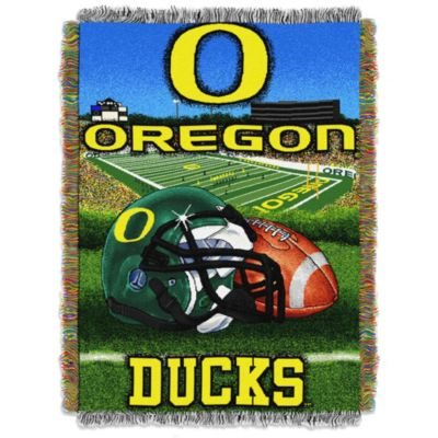 University of Oregon Tapestry Throw Blanket
