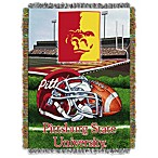 Pittsburgh State University 48-Inch x 60-Inch Tapestry Throw Blanket