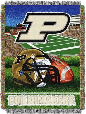 Purdue University Throw Blanket