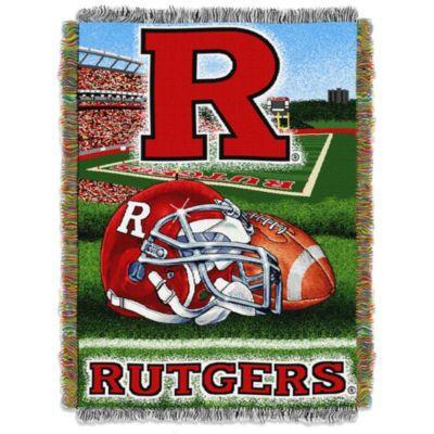 Rutgers University Tapestry Throw Blanket