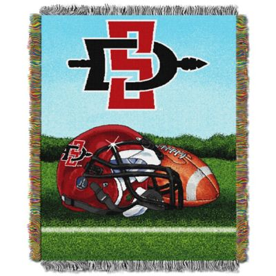 San Diego State University Tapestry Throw Blanket