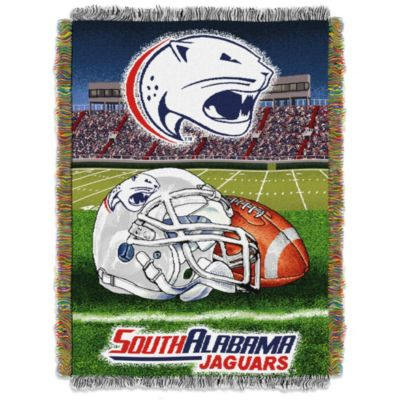 University of South Alabama Tapestry Throw Blanket