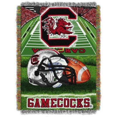 University of South Carolina 48-Inch x 60-Inch Tapestry Throw Blanket